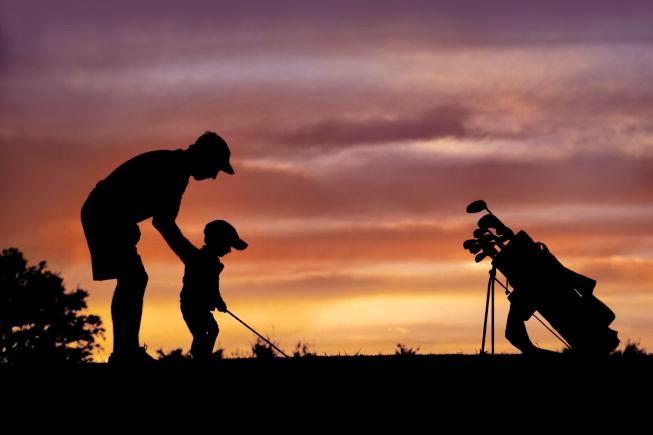 Carta de un padre golfista a su hijo el día de su nacimiento