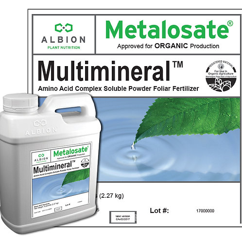 Multimineral Organic 5 Lb