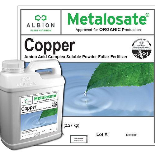 Copper Organic 5 Lb