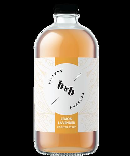 Bitters & Bubbles Lemon Lavender Syrup