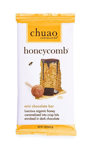 Chuao Honeycomb Mini Chocolate Bar
