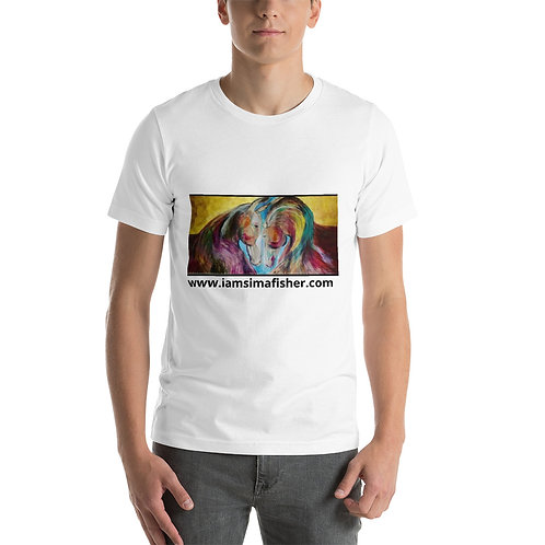 "Sima Fisher Art ""Horses In Love"" Short-Sleeve Unisex T-Shirt"