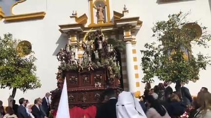 Salida paso de Cristo