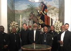 Visita Obispos Obra de la Iglesia