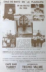 Cartel Cruz de Mayo 89