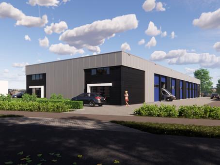 Verkocht: 18 nieuw te bouwen bedrijfsunits Meppel