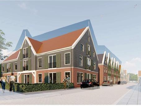 Aangekocht: 18 nieuwbouwwoningen en appartementen De Rijp