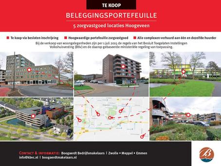 Verkocht - 5 zorgvastgoedlocaties in Hoogeveen