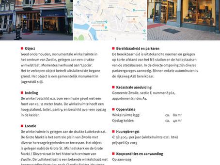 Verkocht: Luttekestraat 4 te Zwolle