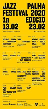JAZZ PALMA FESTIVAL 2020