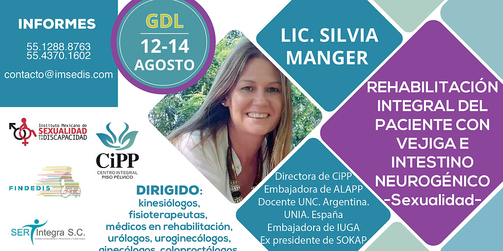 Rehabilitación de Vejiga e Intestino Neurogénicos. Sexualidad. Guadalajara.