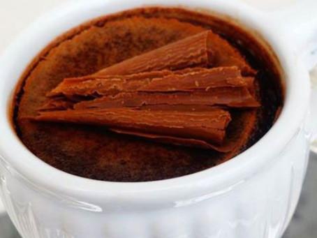 À Mesa com Proust: Tigelinhas de Creme de Chocolate