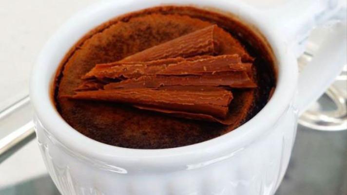 Tigelinhas de Creme de Chocolate