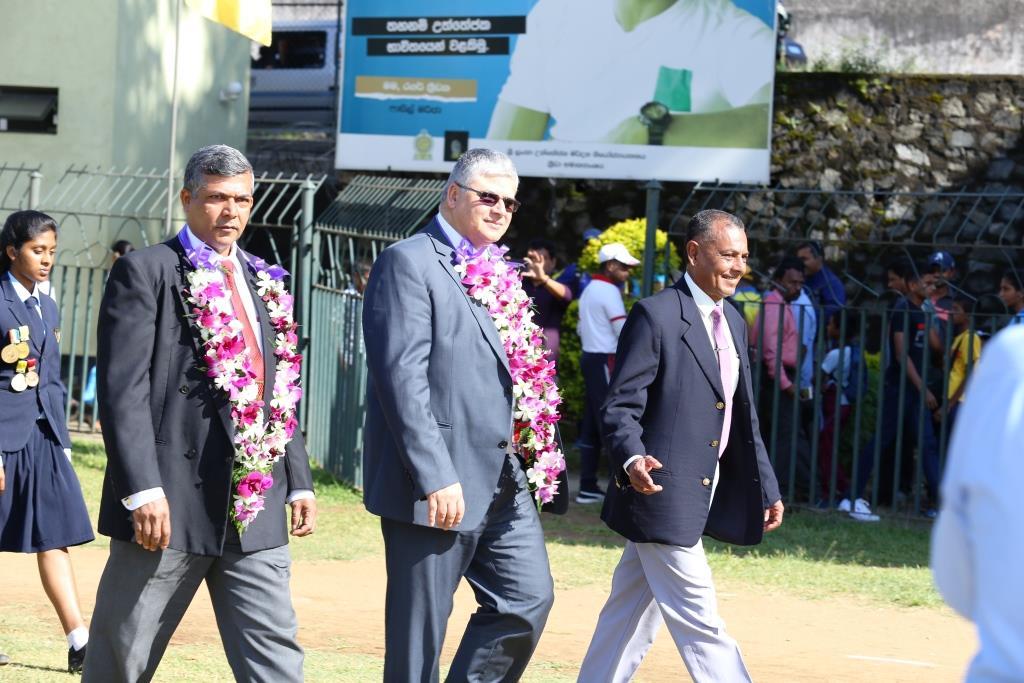 Mr.Herath, Mr.Monarawela and Colone