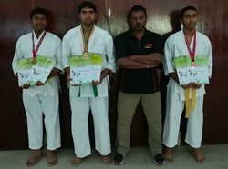 Karate At Ecole