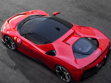 Primeiro carro elétrico da Ferrari deve competir com Tesla Roadster