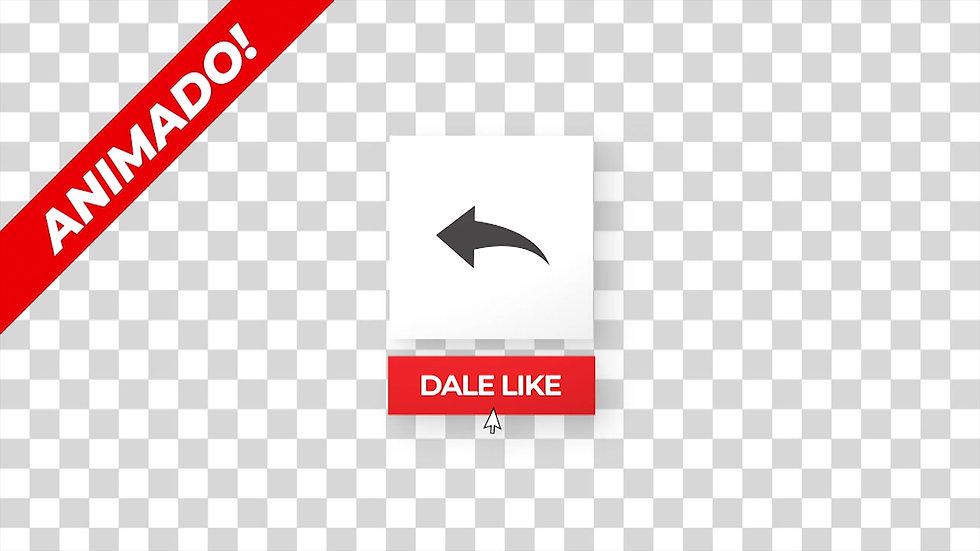 Botón: Cuadro Dale Like Comparte - 1X1