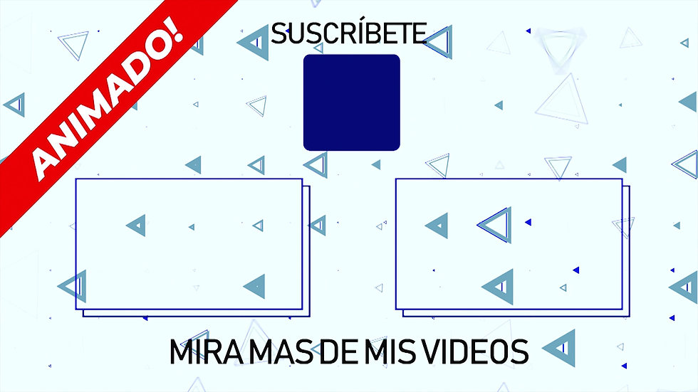 Pantalla Final: Youtube - Blanca Y Azul