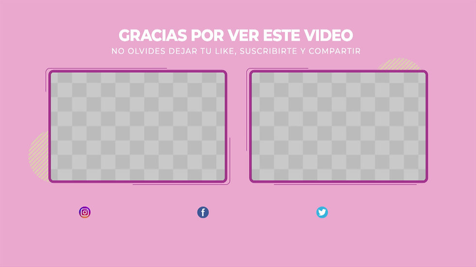 GS3 - Pantalla Final: Youtube - Rosa y Lila