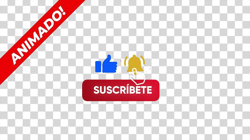 Boton: Dale Like Mano Azul Campana Amarilla - 1X1