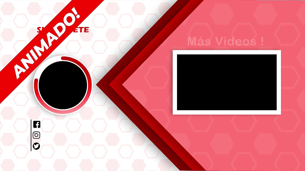 Pantalla Final: Youtube - Rosa Y Rojo