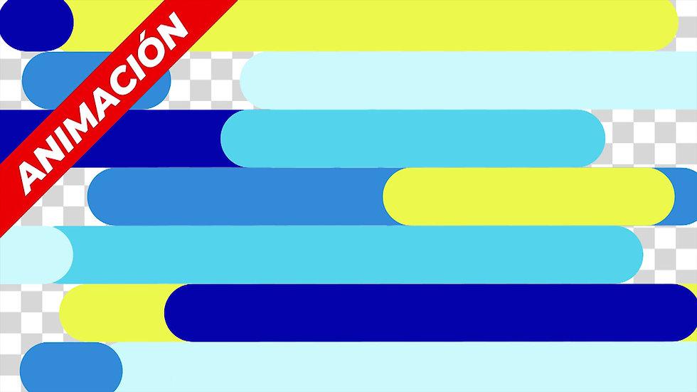 Transición: Líneas Coloridas - 004