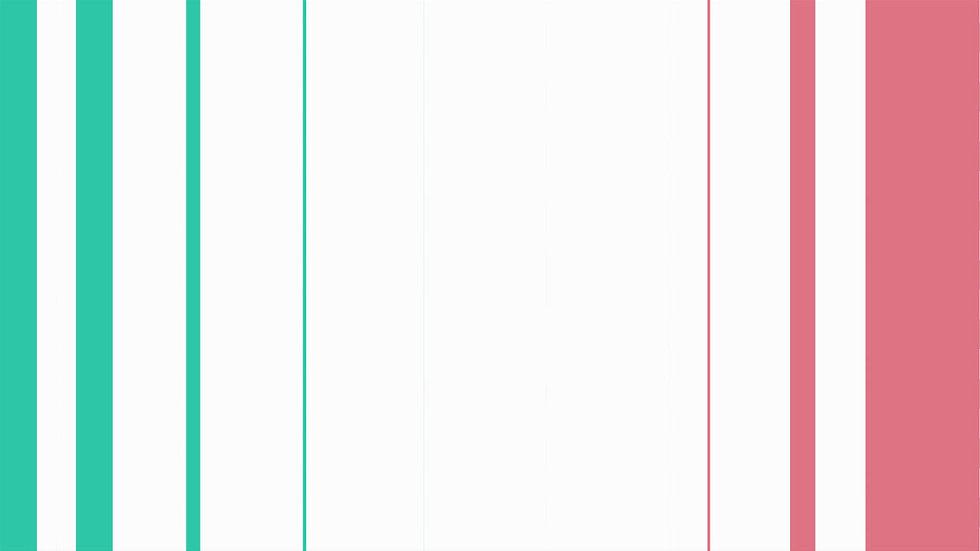 Transición: Lineas Verticales - Pink & Teal