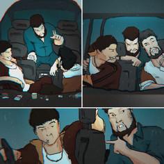 Hubris Film - Car Scene