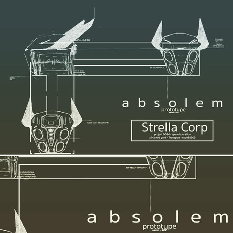 Absolem Blue Print II
