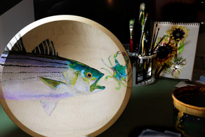 You will be BOWLED over by Marianne's exquisite hand painted bowls!
