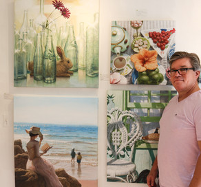 """Art is his Life""  Meet David Ruhe"