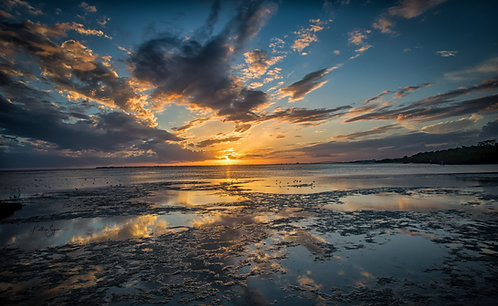 """Bunche Beach Sunset"" by Kathryn Seguin Photography"