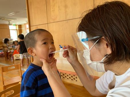 6月4日(金曜日)今日から歯磨き頑張るぞ~♪歯科検診もお疲れ様です♡^^