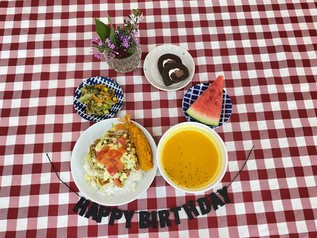 7月16日(金)お誕生会♪みんなでお祝いしました(*^^)v
