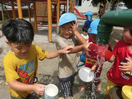 5月20日(木) 水遊びを楽しむ季節になってきました♫