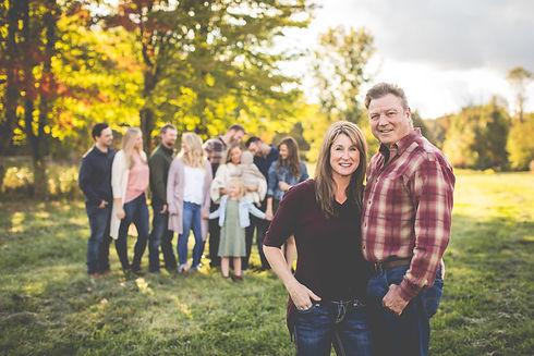 Joe Leduc and his family