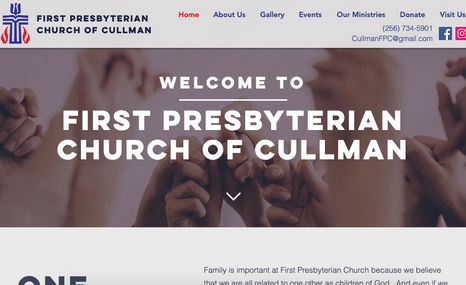 Cullman First Presbyterian Church Family is important at First Presbyterian Church b...