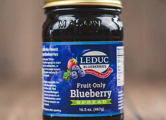 Fruit Only Blueberry Spread