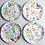 "Thumbnail: Assorted Melamine ""paper"" plates"