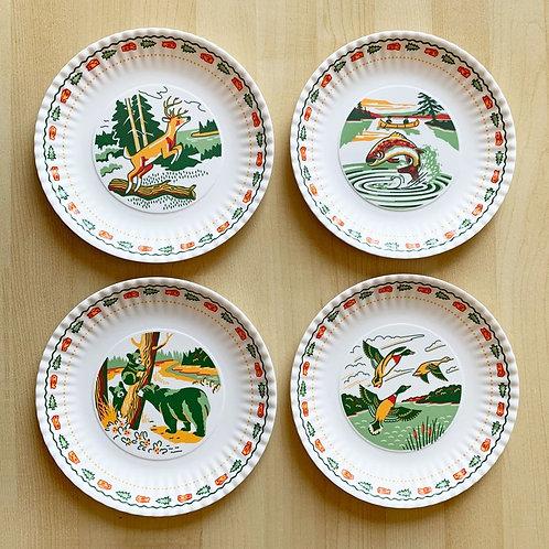 "Wildlife ""paper"" Plates"