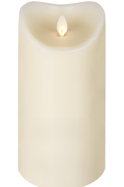 "LuxeryLite LED Wax Candle 3"" x 8"""