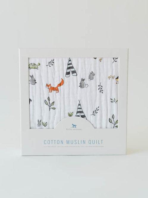Cotton Muslin Quilt