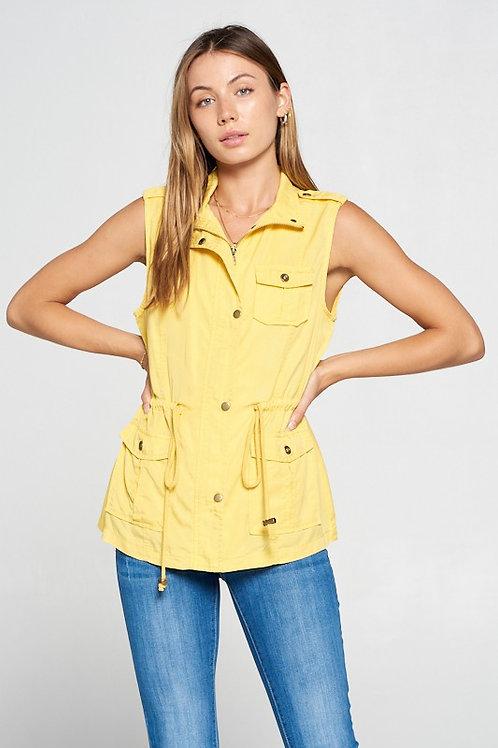 Aubrey Tencel Cargo Vest