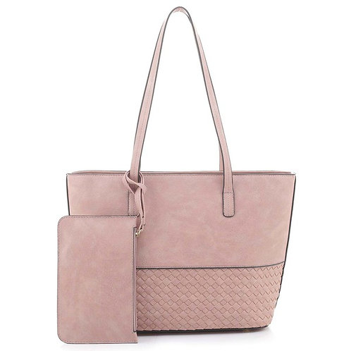 Grace Tote with Clutch Set