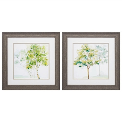 Woodland Trees Set of 2