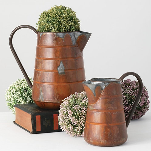 Ellie Coffee Pot Planters Set of 2