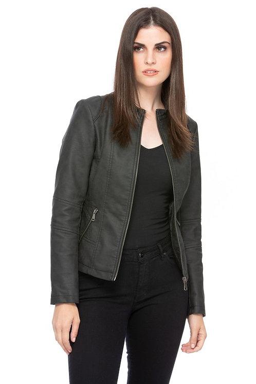 Riley VeganLeather Motorcycle Jacket