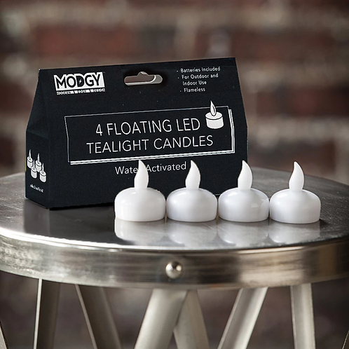 Water-activated Floating LED Tealight Candles