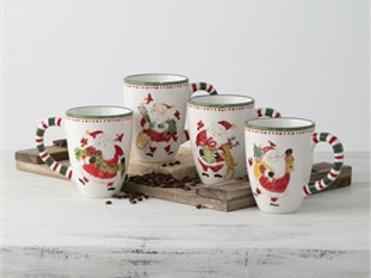 Simply Santa Mug Set of 4
