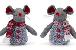 Christmas Mouse Set of 2
